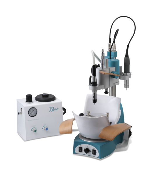 ORTHOFLEX wet milling unit with adjustable arm support